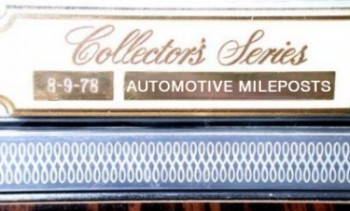 Image: 1979 Lincoln Continental Collector's Series dash plaque